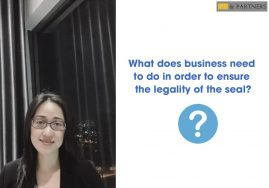 What does business need to do in order to ensure the legality of the seal?